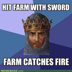 Good old age of empires =)