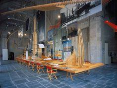 Genova 2004 - Mostra personale Renzo Piano - con Studio Origoni e Steiner - Krea allestimento