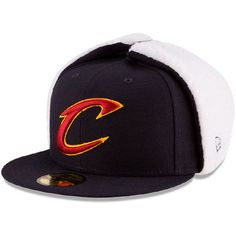 f66c835a3d2 NBA-Cleveland Cavaliers · Men s New Era Navy Cleveland Cavaliers Flurry Fit  Dogear 59FIFTY Fitted Hat Cleveland Cavaliers Hats