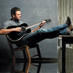 Blake Shelton... I have a severe crush on this man