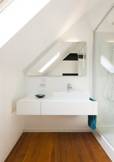 diy home decor for apartments is utterly important for your home. Whether you pick the bathroom demolition or remodeling bathroom ideas, you will create the best bathroom remodeling for your own life. Loft Bathroom, Upstairs Bathrooms, Bathroom Kids, Bathroom Flooring, Modern Bathroom, Small Bathroom, Ikea Bathroom, Bathroom Cabinets, Bathroom Remodel Cost