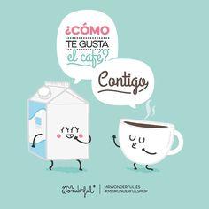 ¿Cómo te gusta el café? @mrwonderful_