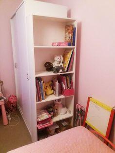 Στήσιμο νέας βιβλιοθήκης Bookcase, Shelves, Home Decor, Shelving, Decoration Home, Room Decor, Book Shelves, Shelving Units, Home Interior Design