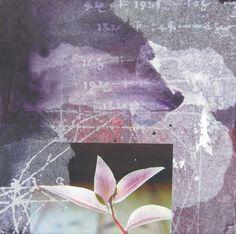 THE INNER LANGUAGE OF NATURE 30x30cm  mixed media  Helena Sellergren