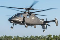 Sikorsky Aircraft has successful completed the first test flight of the S-97 Raider helicopter.