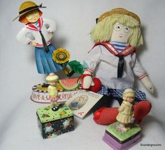 Ann Estelle!!  Collectable Figurine /Doll & Trinket Boxes - Excellant Condition