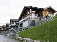 3 Chalets Contemporains, Corbières, 2012 - SWeeT architecture