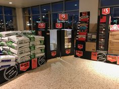 In this Morrisons store Black Friday was restricted to the large foyer