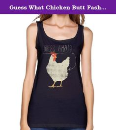 Guess What Chicken Butt Fashion Vest For Woman. The Fashion Vest Makes You Stand Out In A Crowd. And There Are Various Colors And Sizes For You To Choose. Please Measure Carefully Before Buying,and Take Each Measurement A Bit Loosely, So There Will Be Room For You But Not Too Loose.