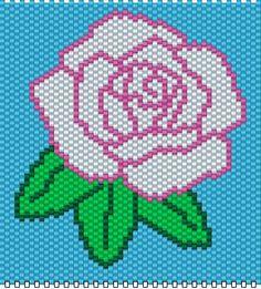 BEADED BANNERS Peyote Stitch Patterns, Bead Loom Patterns, Beading Patterns, Perler Bead Emoji, Diy Perler Beads, Seed Bead Crafts, Beaded Banners, Native Beadwork, Cross Stitch Rose