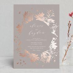 Foil Wedding Invitations.246 Best Foil Pressed Wedding Invitations Images In 2019