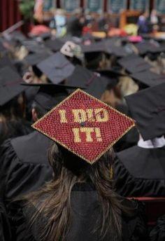 Graduation cap?