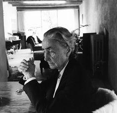 Georgia O'Keeffe, photographed by Cecil Beaton.