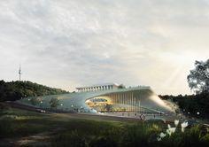 Segundo Prêmio Estúdio de Artes Cênicas do Teatro Nacional da Coréia,Cortesia de Archiplan