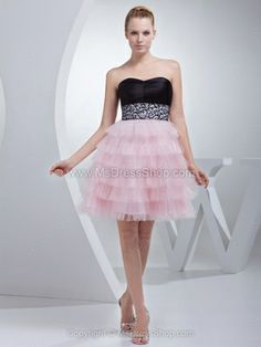 A-line Sweetheart Tulle Satin Short/Mini Tiered Homecoming Dresses Party Dresses 2014, Girls Pageant Dresses, Prom Dresses, Dress Prom, Formal Dresses, Cute Wedding Dress, Fall Wedding Dresses, Holiday Dresses, Party Dresses