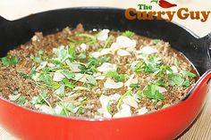 This lamb keema curry recipes is quick, easy and delicious. Best selling cookbook author Dan Toombs aka The Curry Guy shares this mouthwatering recipe. Balti Recipes, Keema Curry Recipe, Best Selling Cookbooks, Garlic Paste, Le Creuset, Garam Masala, Curry Recipes, Baking Tips, Food Lists