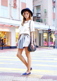 Casual Street Style In Hong Kong | Camille Tries To Blog