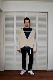 Y's Wardrobe: [UNUSED NIKE airmax97]肩を落としてエアマックスを履いて展示会へGO!!