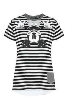 Primark - Camisola pijama às riscas Mickey Mouse