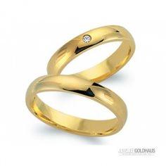 #Trauringe #Eheringe Gold Gelbgold - CLR1007