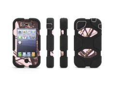 c1570a50111 Black Friday Pink Breakup/Black Survivor Case in Mossy Oak Camo with Belt  Clip for iPhone from Griffin Technology