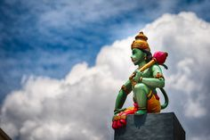 Hanuman, the monkey god, Little India, Singapore Traditional Stories, Jai Hanuman, Love Background Images, Tiny Tales, God Pictures, Muslim Girls, Indian Gods, Growing Up, Singapore