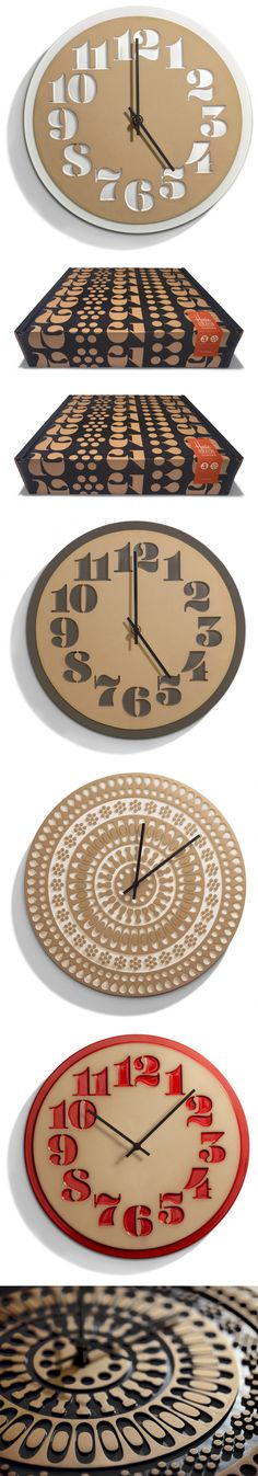 House Industries & Heath Ceramics Clocks — The Dieline | Packaging & Branding Design & Innovation News