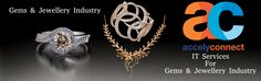 Best #ITServices For #Gems & #Jewellery Industry Offered By #Accely