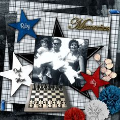 """I absolutely Loved working with this Kit that is by Zesty Designs """"My Dad."""" I wish we had more kits to work with for men and boys, this one is Fantastic! I love the elements too! I wanted you to see that in my opinion this Kit is versatile as well, so you can make many pages for your photo's with it. You can purchase it at the link below, SALE ENDS SOON.   Click here: All Studio Designers :: Zesty Designs  https://www.digitalscrapbookingstudio.com/zesty-designs/"""