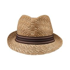 Shop for Straw Fedora, Brown, at Journeys Shoes. Straw fedora-style hat with contrasting brown band. Straw Fedora, Fedora Hat, Bling Shoes, Stylish Hats, Brown Band, Love Hat, Cool Hats, Hats For Men, Shoe Boots