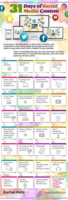 Social media can be useful in growing your business – when done right. Whennot done right, it can turn into an overwhelming time-suck. So to help you overcome your social media stress, I created a 31-day calendar with a new content suggestion for each day. Now you don't need tothink as much about what to ... Read more