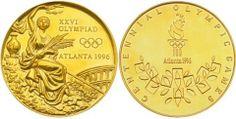 Olympic Medals 1996 Atlanta
