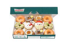 Krispy Kreme Created Donuts for Santa!