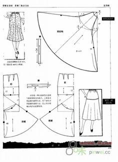 Sewing skirt tips Dress Sewing Patterns, Sewing Patterns Free, Clothing Patterns, Shirt Patterns, Pattern Sewing, Pants Pattern, Techniques Couture, Sewing Techniques, Diy Clothing