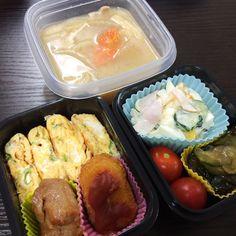豚汁/スパサラ/わかめの酢のもの 2014/08/30