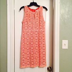 New York & Company Lace Sheath Dress Super Cute! Perfect for Spring! Worn once.  Perfect condition New York & Company Dresses