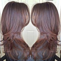 .@larisadoll | A simple forward graduation haircut. #hairbylarisalove | Webstagram - the best Instagram viewer