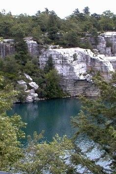 Minnewaska State Park Preserve, within an hour and a half drive from New York City!