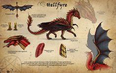 Hellfyre refsheet Commission by alecan.deviantart.com on @DeviantArt