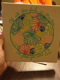 Of all the fish in the sea...I'm glad you went DZ!   Big-Little Crafts!!