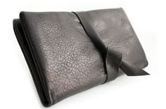 Cris leather wallet personalized with your initials! Totally hand-sewn with care while processing your order, especially for you! http://www.genuinemyself.com/wallets--accessories--portafogli-e-accessori.html