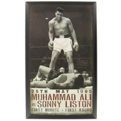 Celebrate one of America's legendary athletes. 25th May 1965 Muhammad Ali vs Sonny Liston - First Minute - First Round⎜Open Road Brands