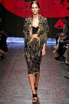 Donna Karan Spring 2015 Ready-to-Wear Fashion Show - Josephine Le Tutour 2015 Fashion Trends, 2015 Trends, Fashion Week, New York Fashion, Fashion Show, Fashion Spring, Fashion Addict, Latest Trends, Donna Karan