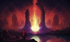 The Portal by Shahab Alizadeh | Fantasy | 2D | CGSociety