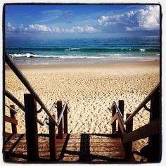 Snapper Rocks Beach em Coolangatta, QLD