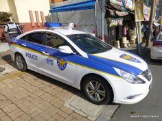 Police @ Busan, South Korea.