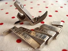 Gauge Presser Foot Attachment Set - this could come in handy on some of my projects!