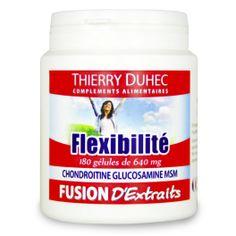 Fusion d'Extraits® Flexibilité - Thierry Duhec La boutique de Compléments Alimentaires