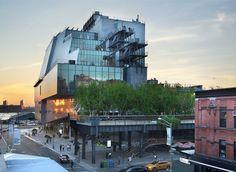 The new Whitney Museum, New York