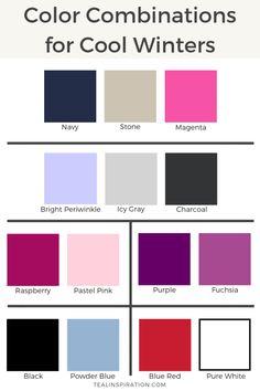 Color Combinations for Cool Winters - Teal InspirationBloglovinFacebookInstagramPinterestTwitter